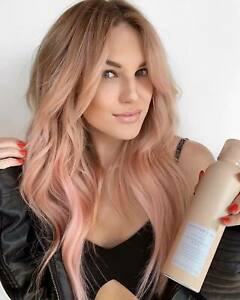 Sweet long Ombre PINK wig 120% Thick