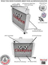 2 Row QR Champion Radiator for 1969 - 1976 BMW 2002 L4 Engine