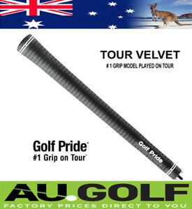 Genuine Golf Pride Tour Velvet Golf Grips - Standard, mid & Jumbo Size