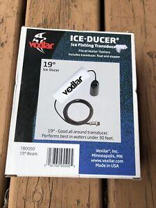 Vexilar 19 degree Ice Fishing Ducer Transducer NIB