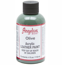 Angelus Leather Paint 4 Oz Olive