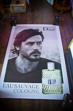 DIOR ALAIN DELON A 4x6 ft Bus Shelter Original Celebrity Fashion Poster