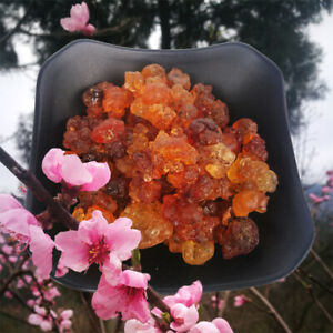 100g~500g Wild Natural Tao Jiao Peach Resin Gum Jelly Edible Chinese Food 桃胶