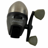 Shakespeare Fishing Reel Steel 220 Prius Spincasting Stainless Steel Front Cone