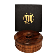 Shaving Soap &  Amphora Wood Soap Dish - Mr Masey's