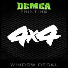 """4X4 - Personalized Window Car Decal/Sticker - 5"""""""