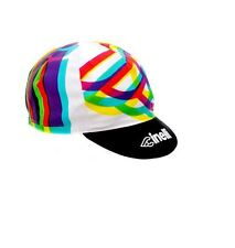 "NEW Cinelli ""Caleido"" Cotton Cycling Cap - ONE SIZE -retro fixed track"