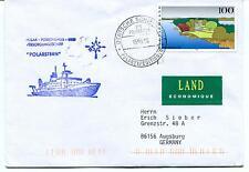 1996 Polarstern Deutsche Shiffpost Polarexpeditionen Polar Antarctic Cover