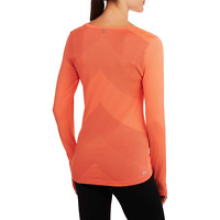 Danskin Now Women's Active Long-Sleeve Performance Tee with Mesh Details Size XL