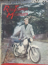 revue technique motocycliste n 88 nov 1954 terrot 500rgst speciale salon