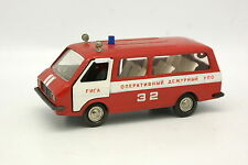 NovoExport USSR 1/43 - RAF 2203 Bus 32 Firefighters