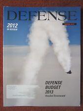 REVUE DEFENSE 2012 IN REVIEW USAF USMC US ARMY US NAVY SOCOM USCG BUDGET AEGIS