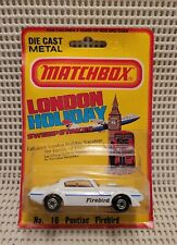 Matchbox  - Pontiac - Firebird - ***New On Card