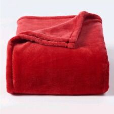 New The Big One super soft plush throw ❤️ Red ❤️ Oversized 5 x 6ft Holiday Gift
