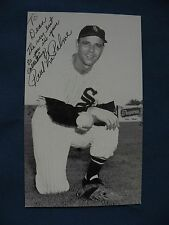 JD McCarthy Paul LaPalme White Sox baseball postcard