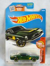 1968 Shelby GT500 Mustang 1/64 Die-cast Model From Then and Now by Hot Wheels