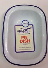 Falcon Enamel Oblong Pie Baking Dish Tin 18cm
