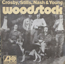"Vinyle 45T Crosby, Stills, Nash & Young  ""Woodstock"" - RARE"