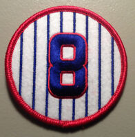 SALE: ANDRE DAWSON CHICAGO CUBS JERSEY NUMBER 8 HIGH QUALITY PATCH