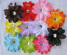 "10 Large 4"" Lily Tropical silk Flower hair clip Scrapbook Craft girl baby woman"