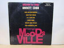 ARNETT COBB - Ballads By Cobb ~ MOODSVILLE 14 {original} w/Garland, Heard ->RARE