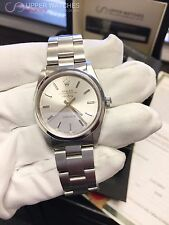 Rolex Air-King 14000 Stainless Steel Silver Stick Dial E Series Model