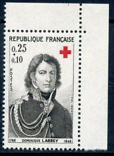 STAMP / TIMBRE FRANCE NEUF N° 1434 ** DOMINIQUE BARON LARREY / ISSUS DE CARNET