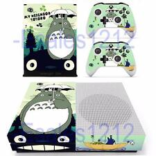 Xbox One S Slim Console Skin Anime My Neighbor Totoro Vinyl Skin Decal Stickers