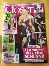 Closer Franziska van Almsick Lady Gaga Sylvie Meis Natalie Portman Jenny Lopez