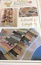 """""""LOVELY LAYERS"""" Quilt Pattern-The Pattern Basket & """"PATRIOTIC SUNBONNET SUE""""free"""