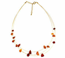 SilverAmber Jewelery Amber Necklace NE0097 made with Genuine Baltic Amber Stone