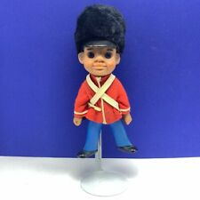 Marching Band doll troll face vintage toy figure queen guard British red coat
