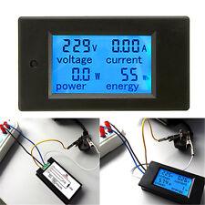LED DIGITALE AC 20A MISURATORE ELETTRICO WATTMETRO VOLTMETRO AMPEROMETRO 45-65Hz