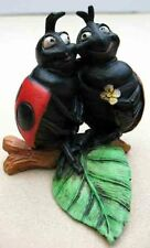 Castagna Critter Figurines -Lady Bug Lovers- Item 0831