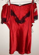 NEIMAN MARCUS 100% SILK BOXER PAJAMA SET sz L NEW AUTHENTIC