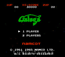 Galaga Demons Of Death - NES Nintendo Game