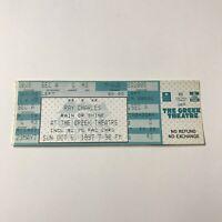 Ray Charles Greek Theatre California Concert Ticket Stub Vintage October 5 1997
