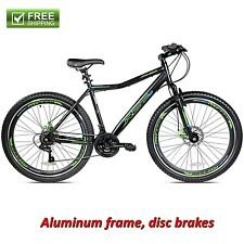 "Kent Mountain Bike 27.5"" Men's Front Suspension Aluminum Frame Bicycle Shimano"
