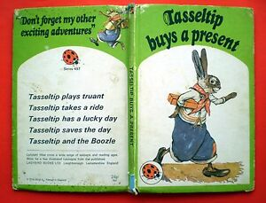 Tasseltip Buys A Present Ladybird vintage book rabbit children bedtime story 497