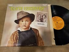 Elvis Presley - Elvis Country - LP Record   VG VG