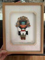 Native American Signed 72/150 Kenneth Banks Corn Maiden KACHINA Art