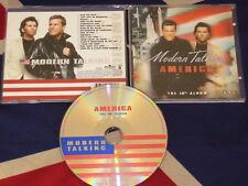 RARE Modern Talking  America  CD ALBUM 16 TITRES 2001 ( THOMAS ANDERS )