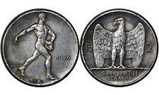 2 Frang Ari 1926 R Albania Silver Coin // SHQIPNI ALBANIA  # 7  Auction From 1$