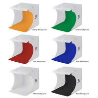 Photo Studio Box Mini Folding Studio Lightbox With LED Light Photography Box Kit