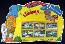 SNOOPY STAMPS SHEET CAYMAN ISLANDS PEANUTS STAMPS CHARLIE BROWN CHARLES SCHULZ