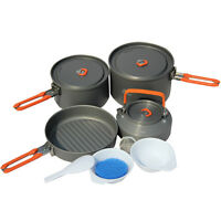 Fire-Maple 4-5 Person Outdoor Camping Pots Set Picnic Cooking Cookware Feast4