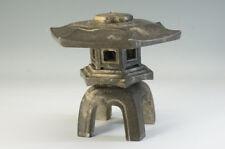 Japan TOUROU Artifcial Stone Lantern Miniature 21 cm Free Ship 982f32