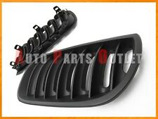 2004-2006 BMW E83 X3 SUV Sport Style Matte Black Front Kidney Grille Grill