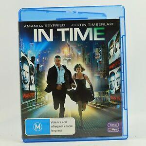 In Time Justin Timberlake Amanda Seyfried Blu Ray Sci-Fi Drama Movie GC