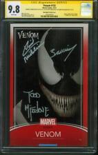 Venom 155 CGC 3XSS 9.8 Todd McFarlane Bagley Michelinie Variant Spider Man Movie